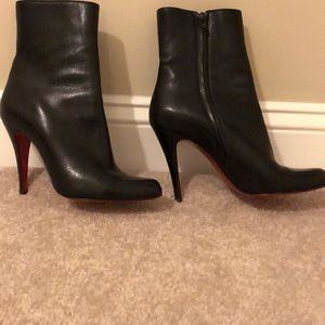 Christian Louboutin Eloise Leather Booties